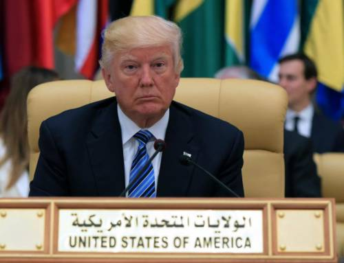 The US President avoids pointing to Saudis' human rights failings, By Naz Smyth